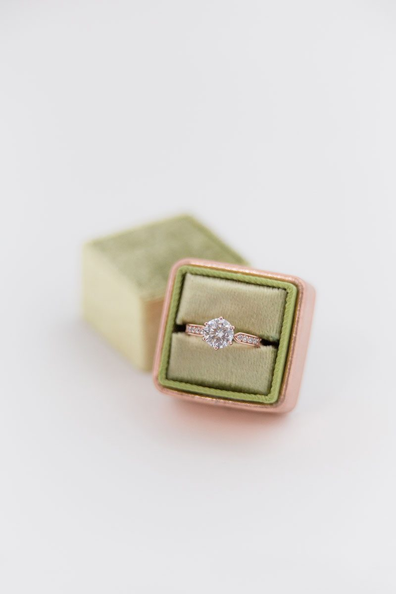Bark-and-Berry-Pistachio-Rose-Gold-double-slot-vintage-wedding-embossed-monogram-velvet-leather-ring-box-001