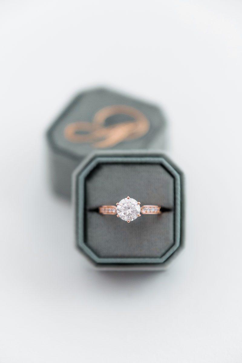 Bark-and-Berry-Spruce-double-slot-vintage-wedding-embossed-monogram-octagon-velvet-ring-box-001-2