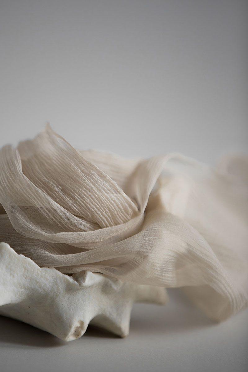 silk ribbon plant dyed