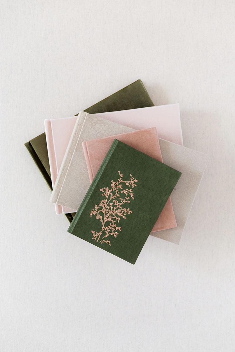 Velvet Guest Book Silk - from Bark and Berry Russia US UK