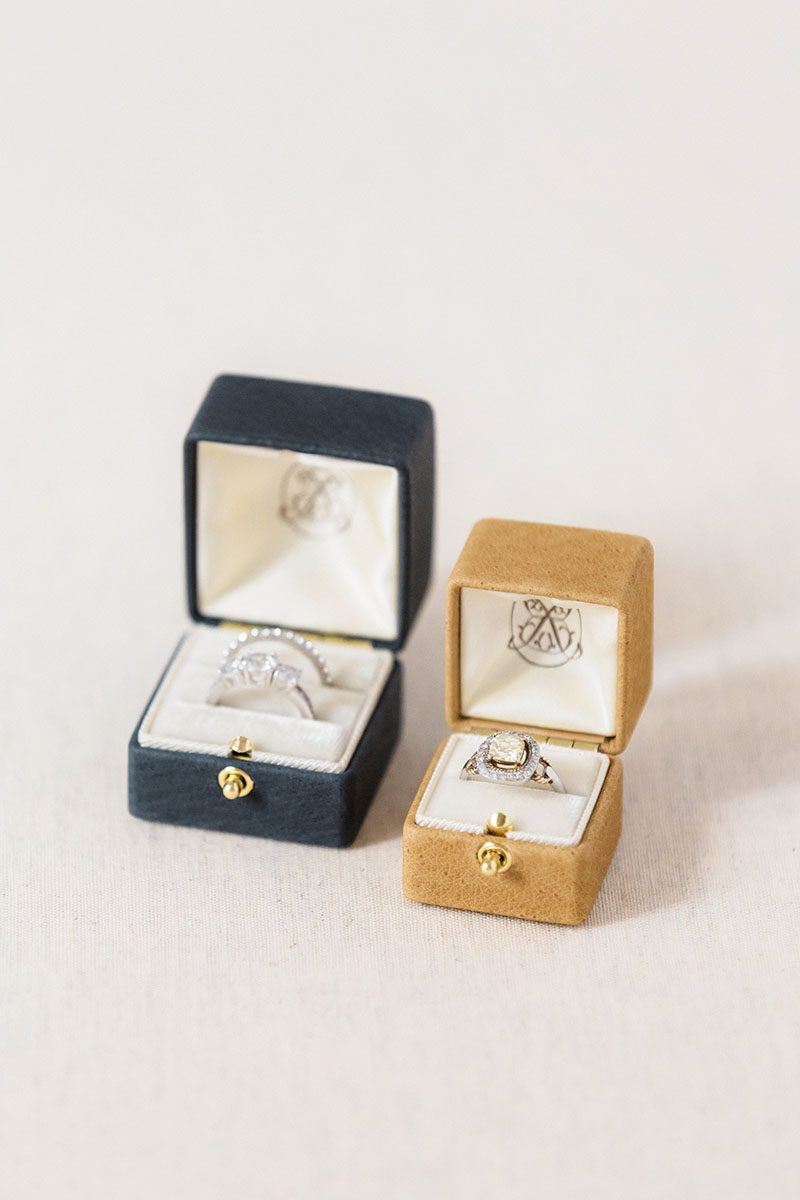 Bark-and-Berry-Grand-Ironstone-Ochre-double-slot-vintage-wedding-embossed-double-monogram-velvet-leather-suede-ring-box-001