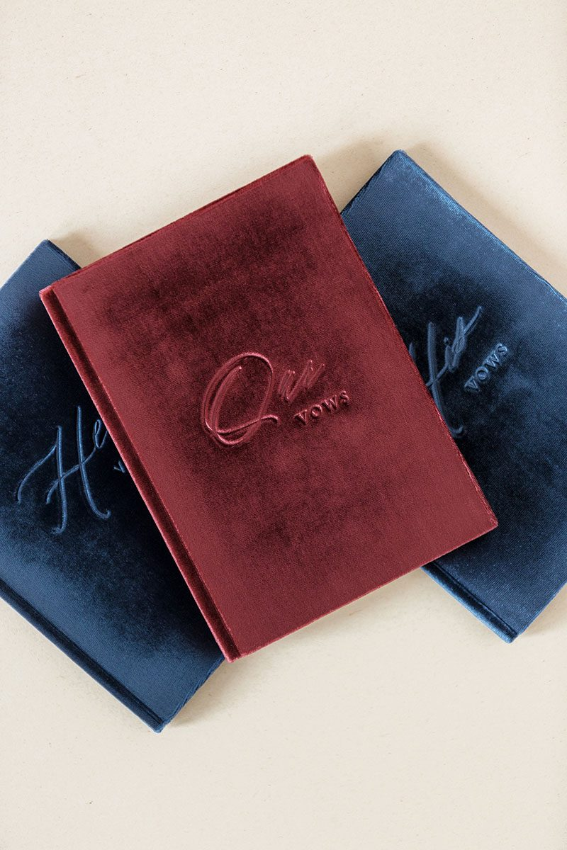 Bark-and-Berry-Ocean-Wine-vintage-velvet-wedding-embossed-monogram-vows-folder-book-003