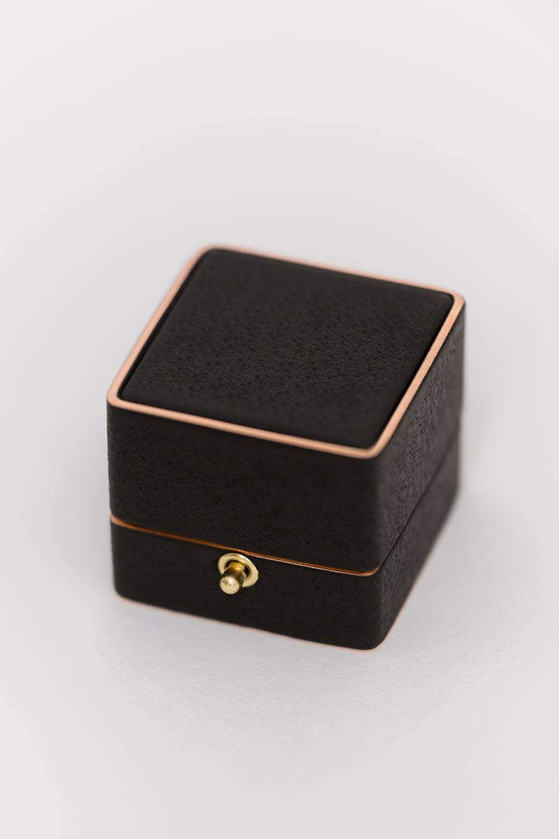 Bark-and-Berry-Grand-Ludovic-vintage-wedding-embossed-edge-monogram-black-velvet-rose-gold-foil-leather-ring-box-002