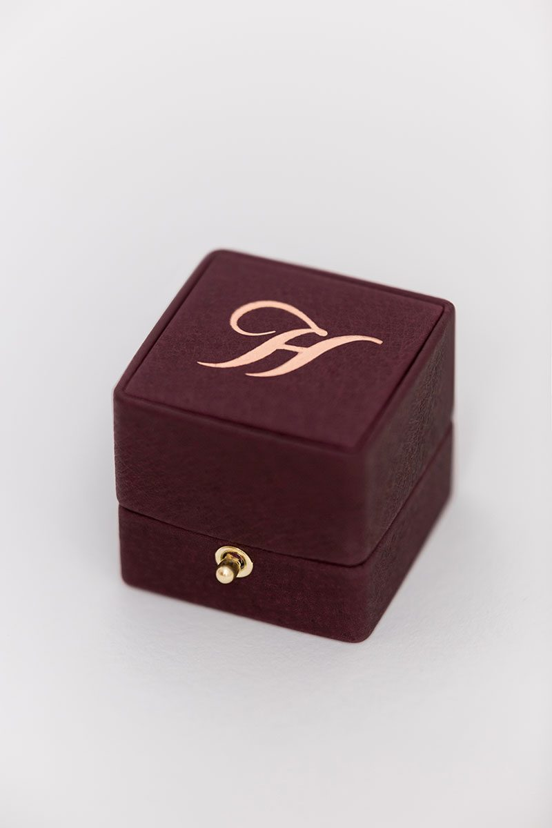Bark-and-Berry-Grand-Victoria-double-slot-vintage-wedding-embossed-double-monogram-velvet-leather-suede-ring-box-003