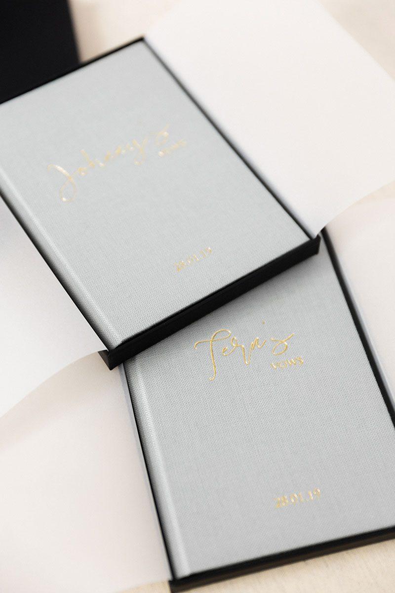 Bark-and-Berry-Cloud-vintage-linen-wedding-embossed-monogram-vows-folder-book-001