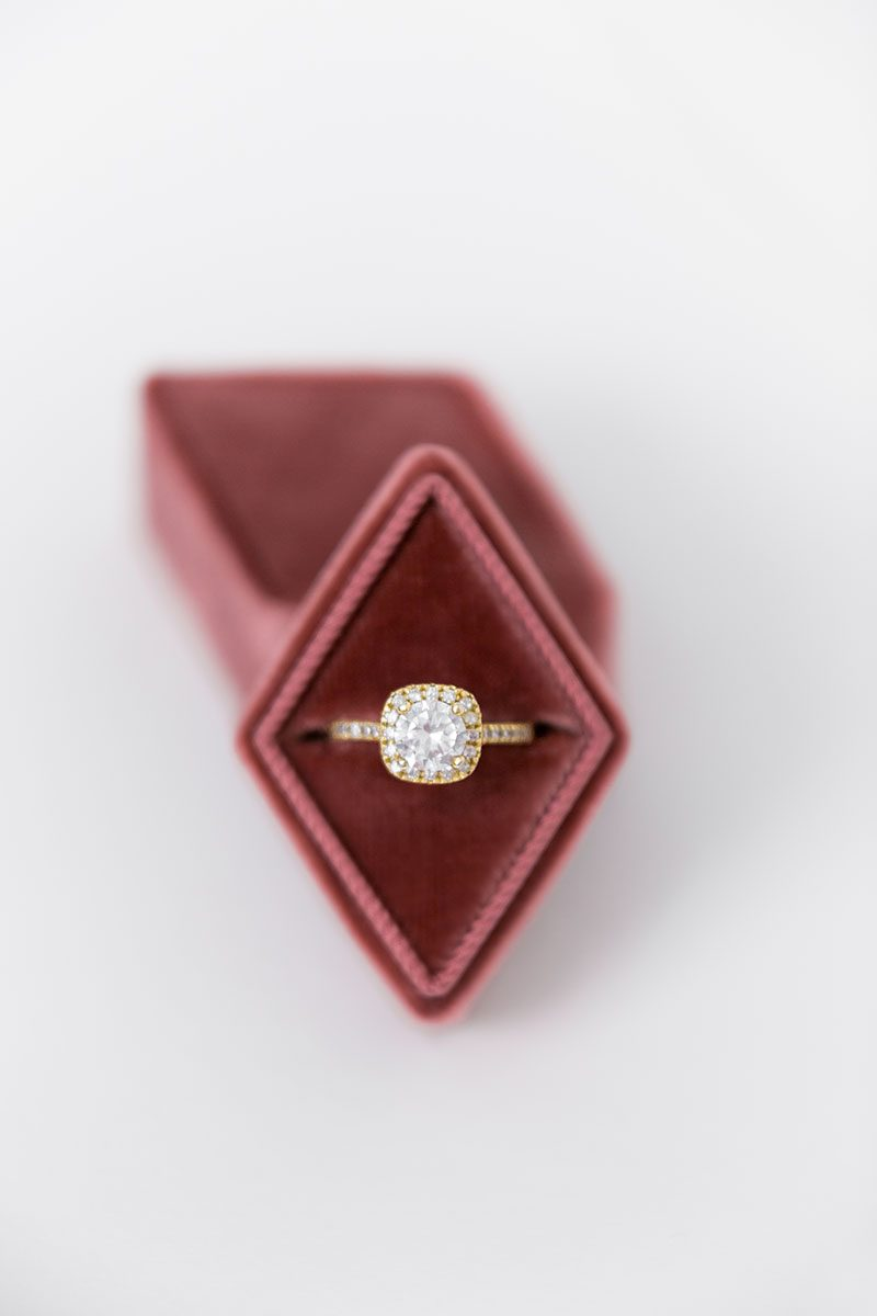 Bark-and-Berry-Dusty-Cedar-vintage-wedding-embossed-monogram-diamond-velvet-ring-box-001