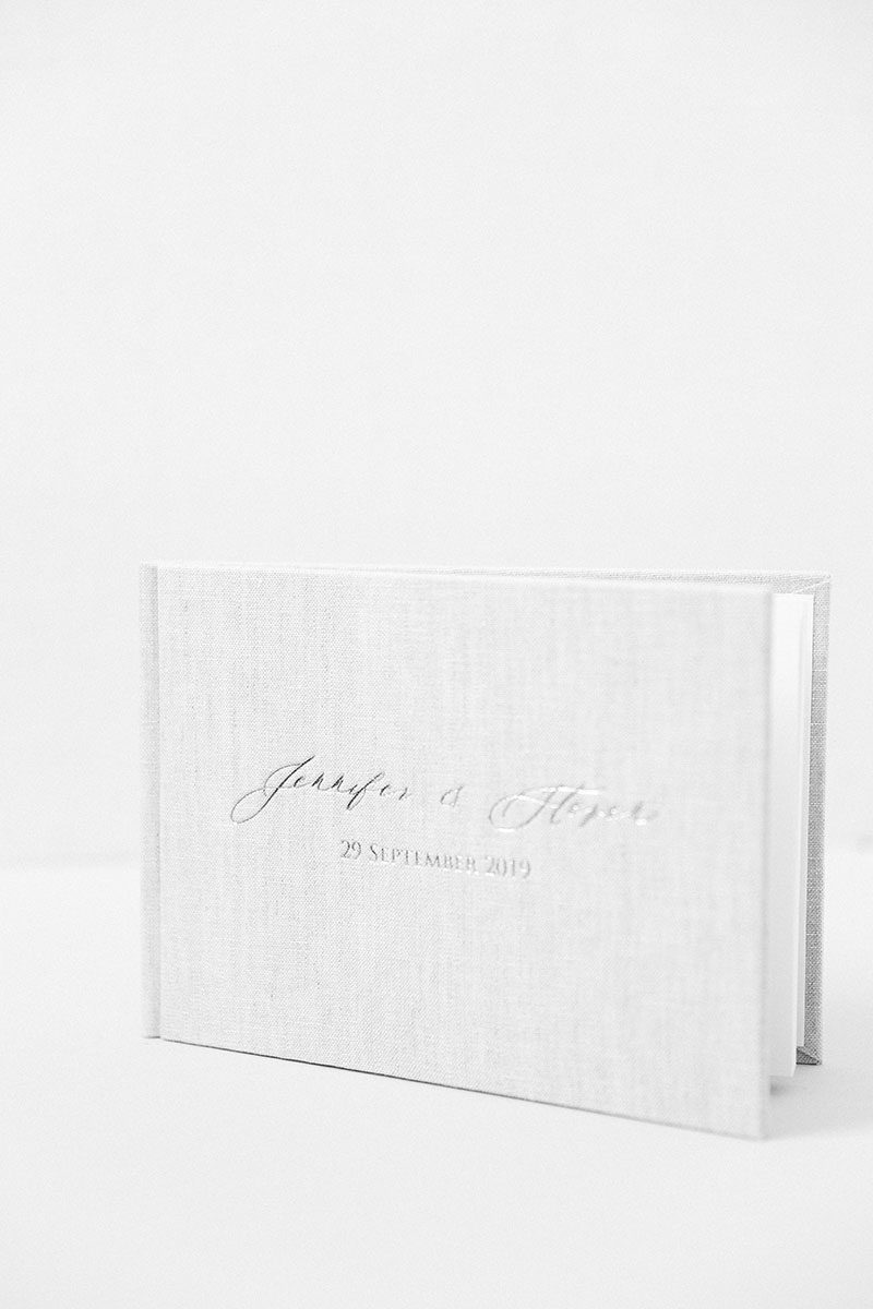 Bark-and-Berry-Oat-vintage-wedding-embossed-monogram-linen-guest-book-004
