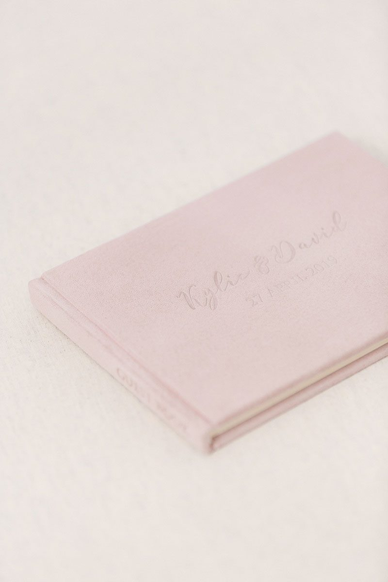 Bark-and-Berry-Diana-vintage-genuine-suede-wedding-embossed-monogram-guest-book-001