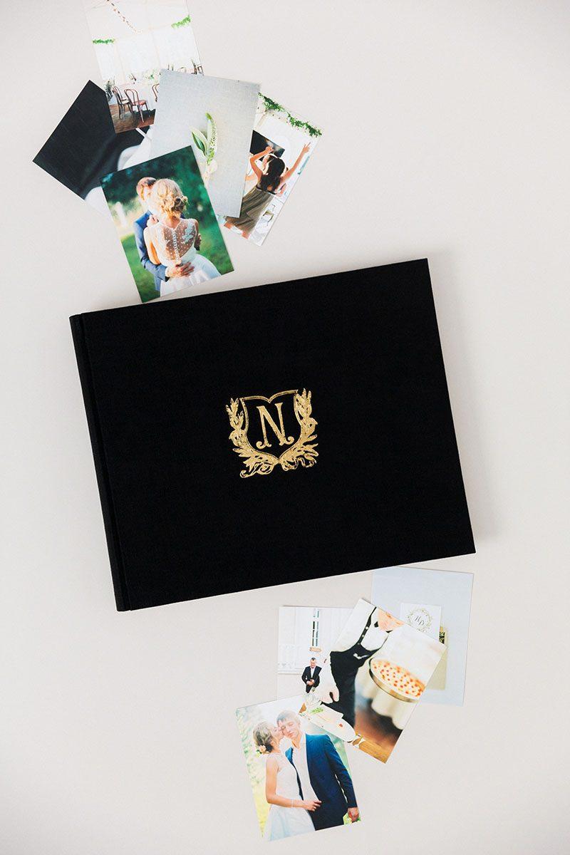 Bark-and-Berry-Black-vintage-linen-wedding-embossed-monogram-guest-book-photoalbum-011