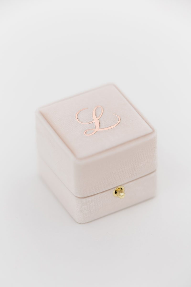 Bark-and-Berry-Blush-vintage-wedding-embossed-monogram-velvet-grand-ring-box-double-single-slot-003