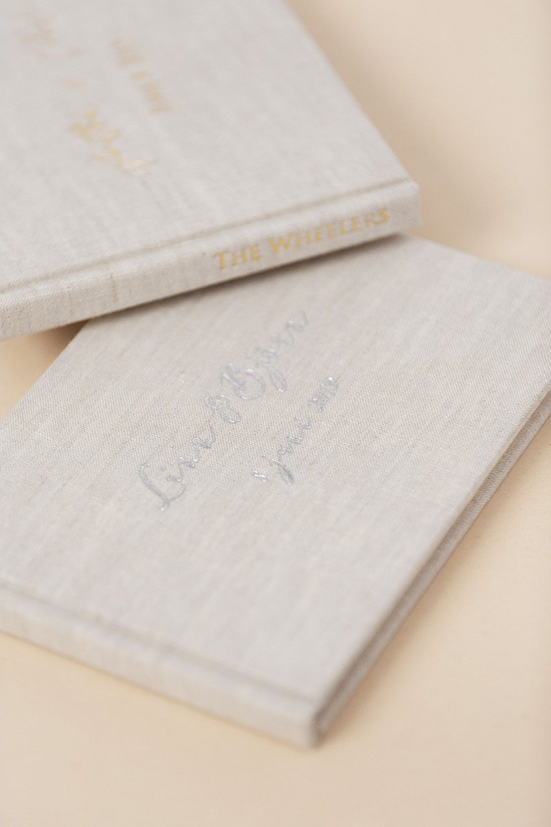 Bark-and-Berry-Oat-vintage-wedding-embossed-monogram-linen-guest-book-010