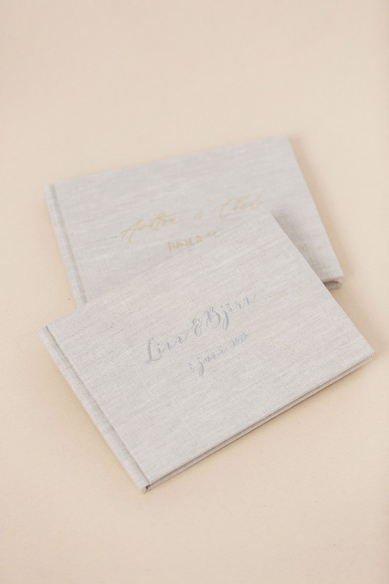 Bark-and-Berry-Oat-vintage-wedding-embossed-monogram-linen-guest-book-011