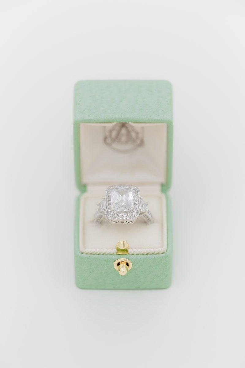 Bark-and-Berry-Honeydew-vintage-wedding-embossed-monogram-velvet-leather-ring-box-001-2