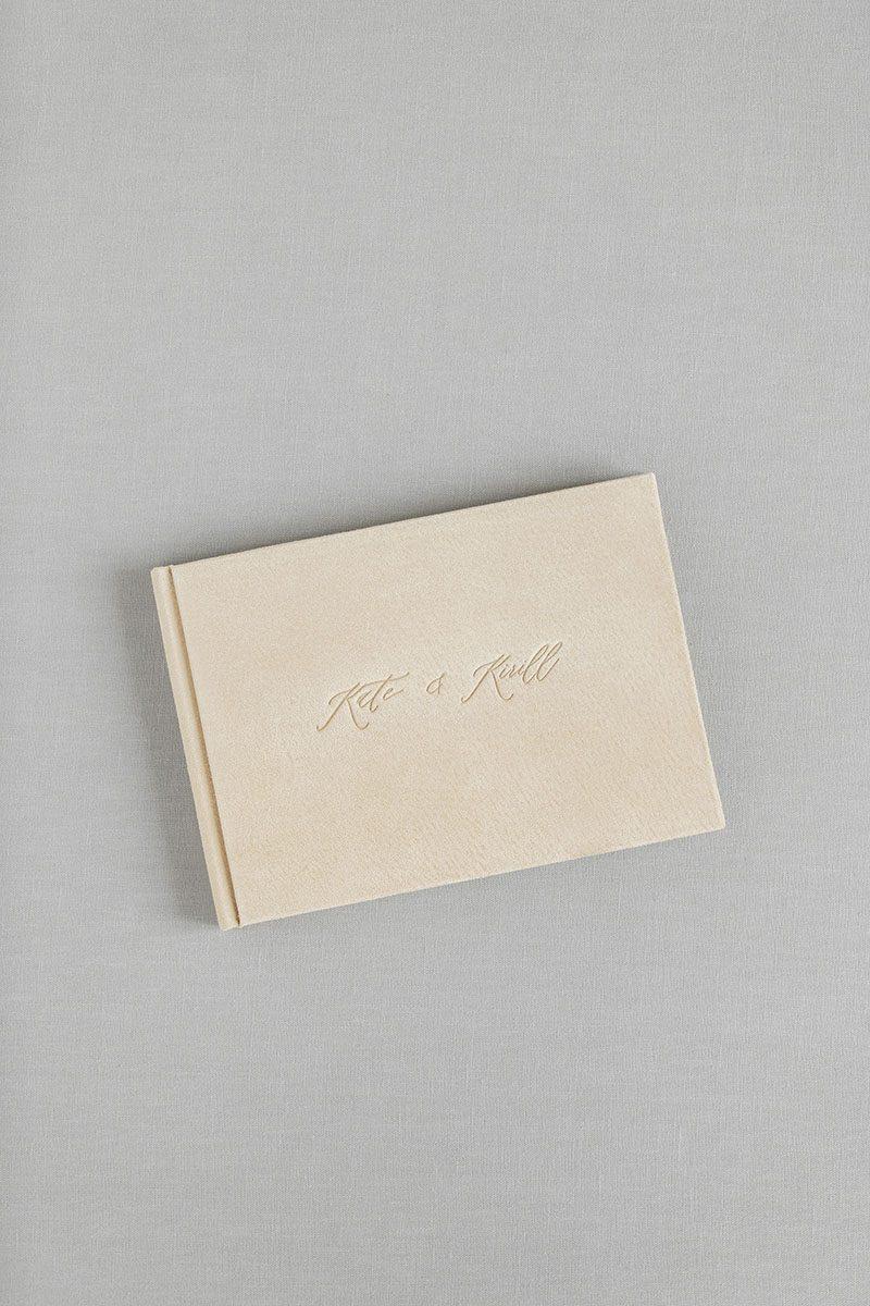 Bark-and-Berry-Anne-vintage-genuine-suede-wedding-embossed-monogram-guest-book-006