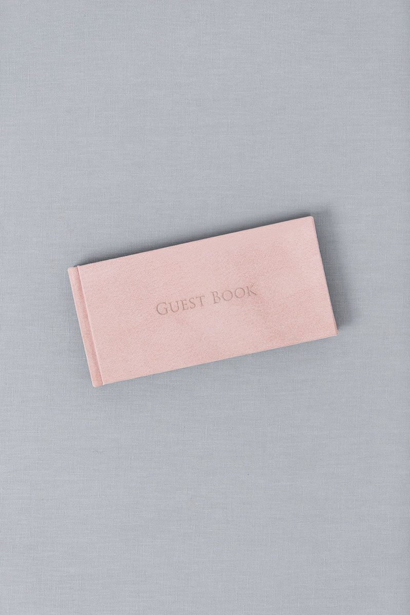 Bark-and-Berry-Diana-vintage-suede-wedding-embossed-monogram-guest-book-21x10cm-005