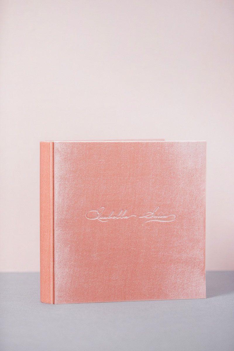 Classic Photo Guest book Wedding album Velvet Linen blank sheet