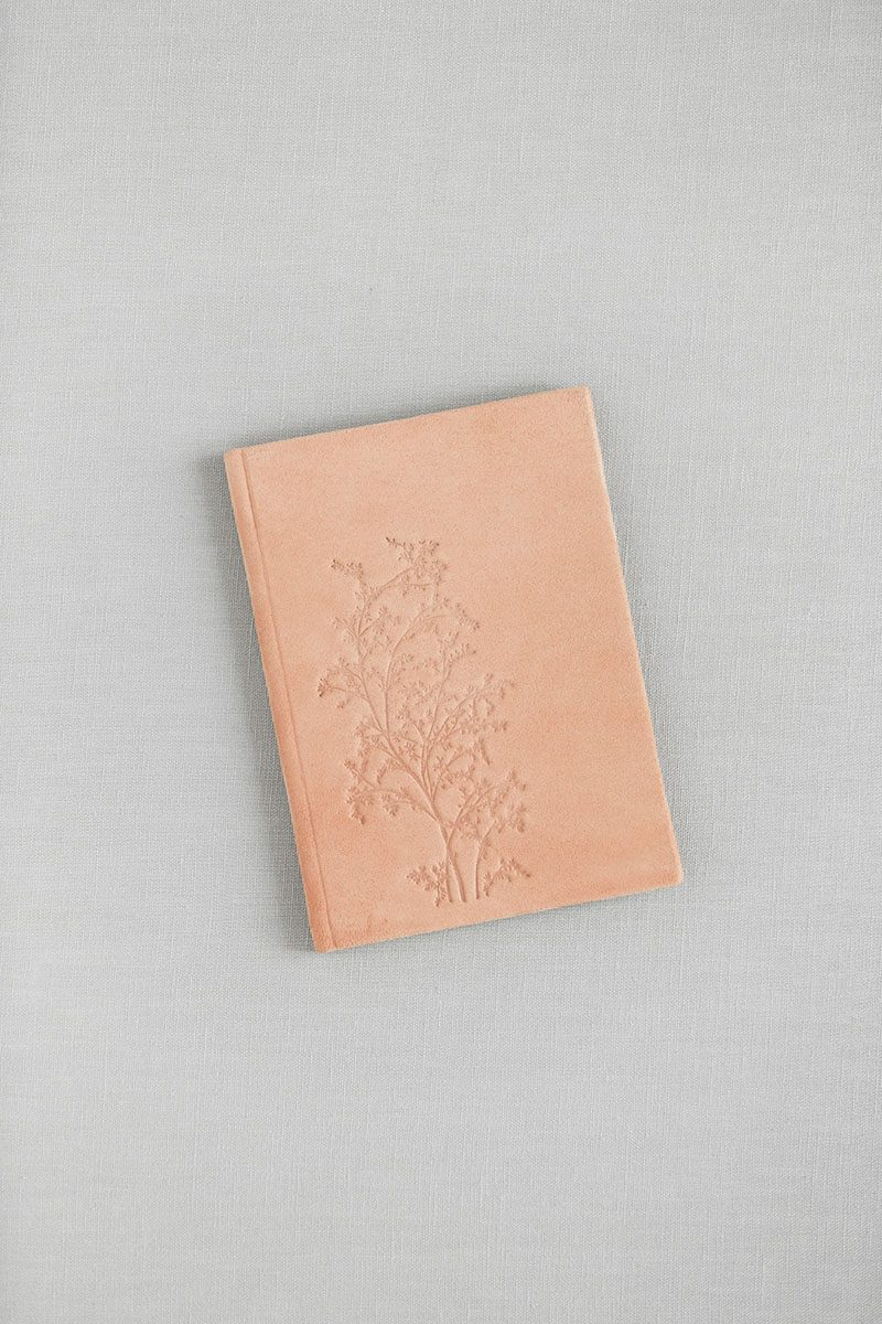 Bark-and-Berry-Powder-vintage-genuine-suede-wedding-embossed-monogram-vows-folder-book-003