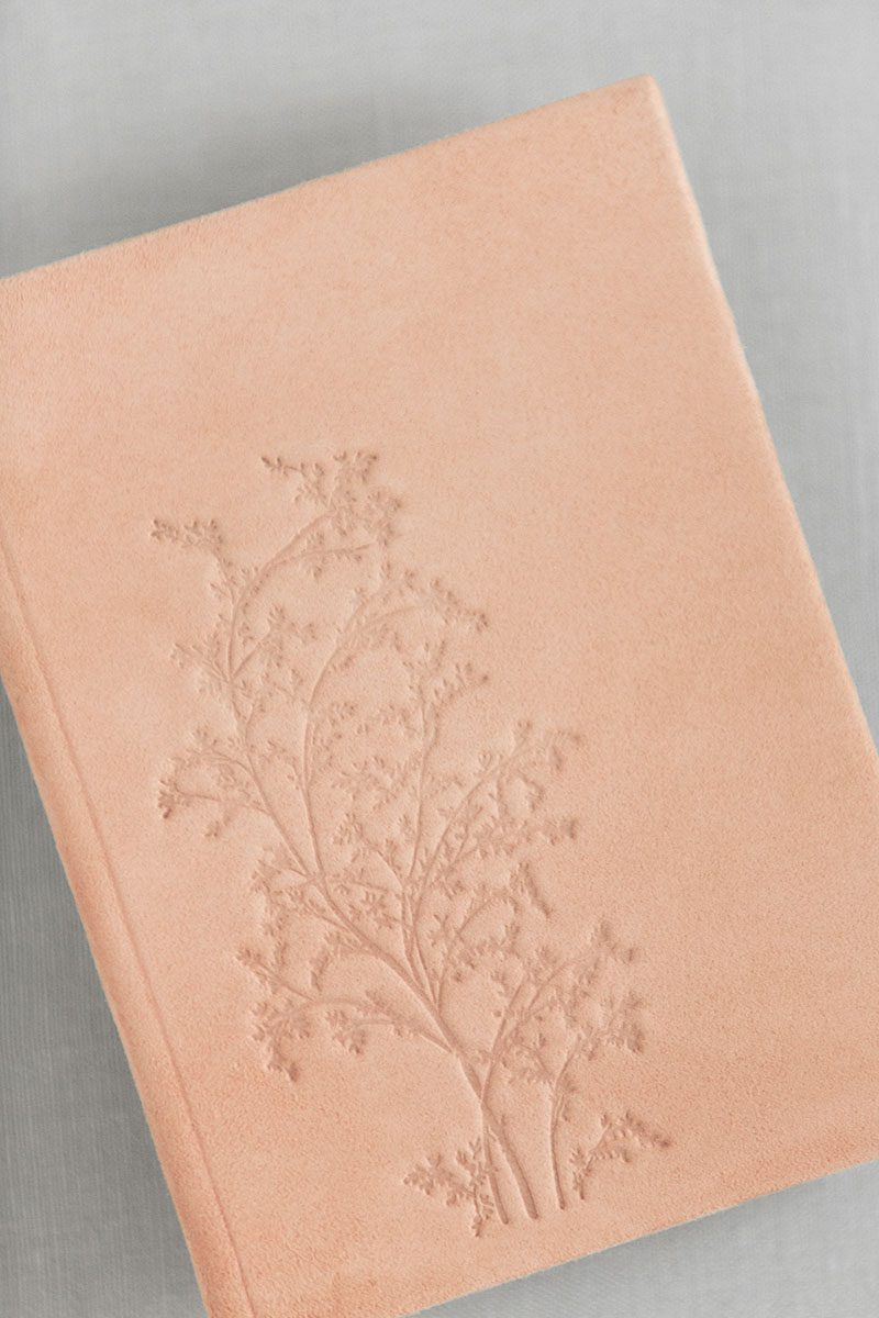 Bark-and-Berry-Powder-vintage-genuine-suede-wedding-embossed-monogram-vows-folder-book-005
