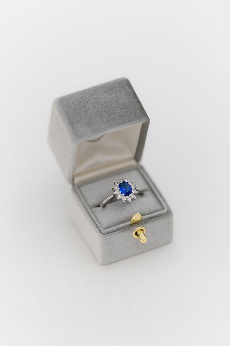 Bark-and-Berry-Fossil-vintage-wedding-embossed-monogram-velvet-ring-box-with-lock-001
