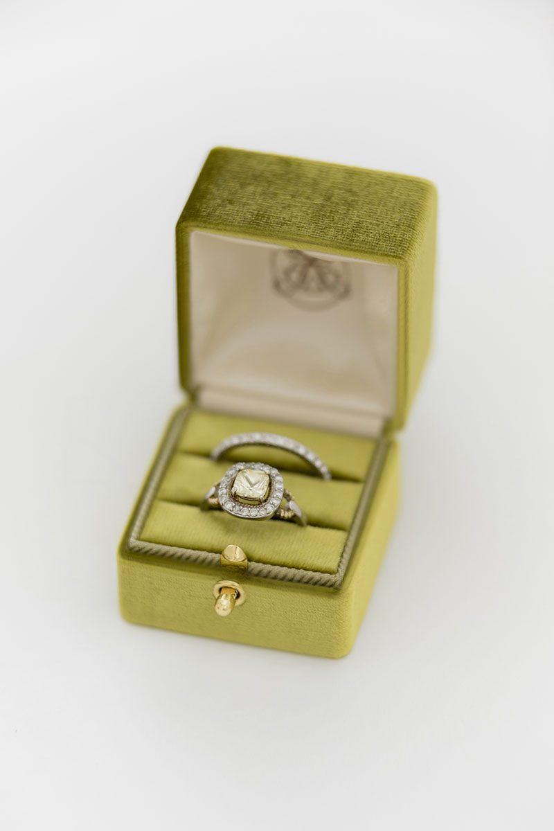 Bark-and-Berry-Olive-vintage-wedding-embossed-monogram-velvet-grand-ring-box-double-single-slot-001