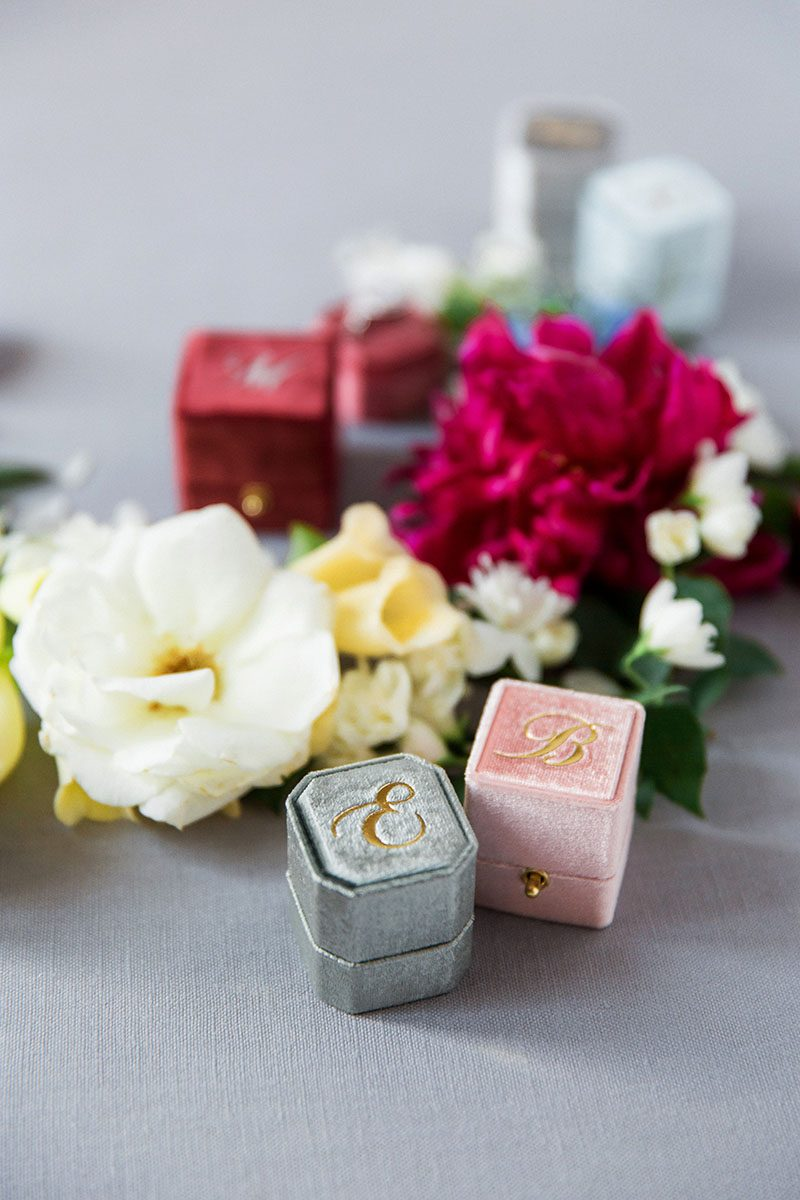 Bark-and-Berry-vintage-wedding-embossed-monogram-velvet-grand-petite-ring-box-double-single-slot-mix-with-flowers-005-2
