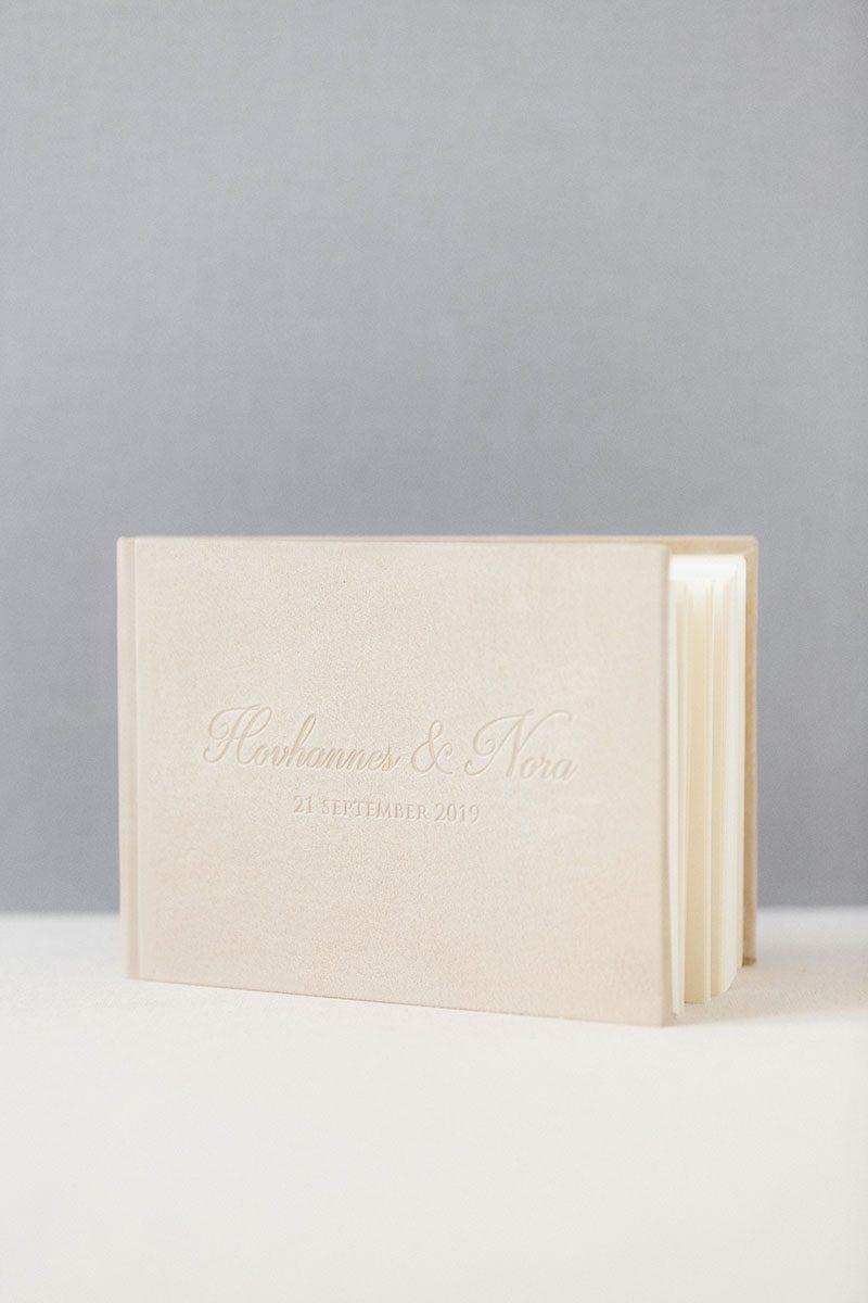 Bark-and-Berry-Anne-vintage-genuine-suede-wedding-embossed-monogram-guest-book-012