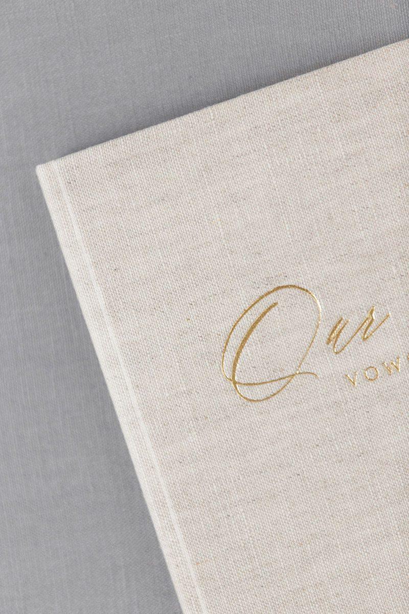 Bark-and-Berry-Oat-vintage-linen-wedding-embossed-monogram-vows-folder-book-10x15-005