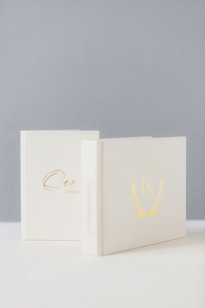 Bark-and-Berry-Pearl-vintage-leather-wedding-embossed-monogram-guest-book-240-pages-vows-folder-002