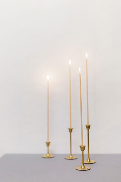 340mm Taper Beeswax Candles