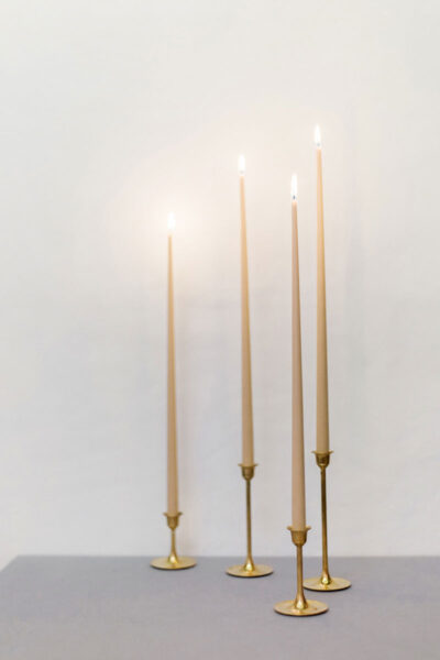 410mm Taper Beeswax Candles