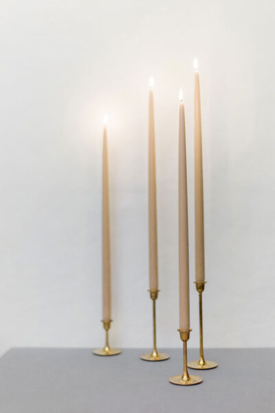 460mm Taper Beeswax Candles