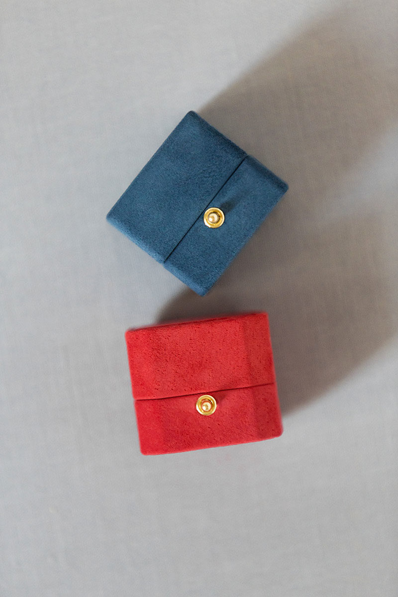 Bark-and-Berry-Grand-Melon-octagon-Nicholas-classic-lock-vintage-wedding-embossed-individual-monogram-velvet-suede-ring-box-002
