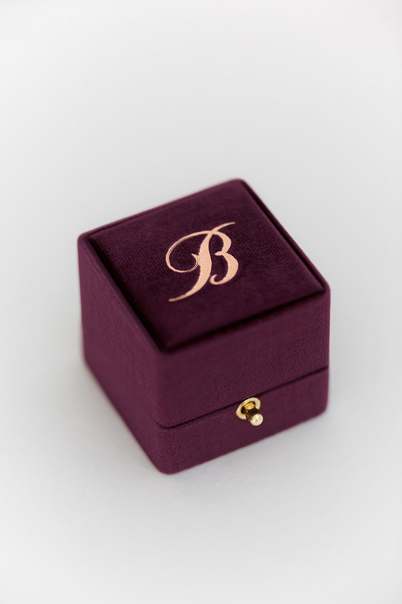 Bark-and-Berry-Plum-vintage-wedding-embossed-monogram-velvet-grand-ring-box-double-single-slot-001