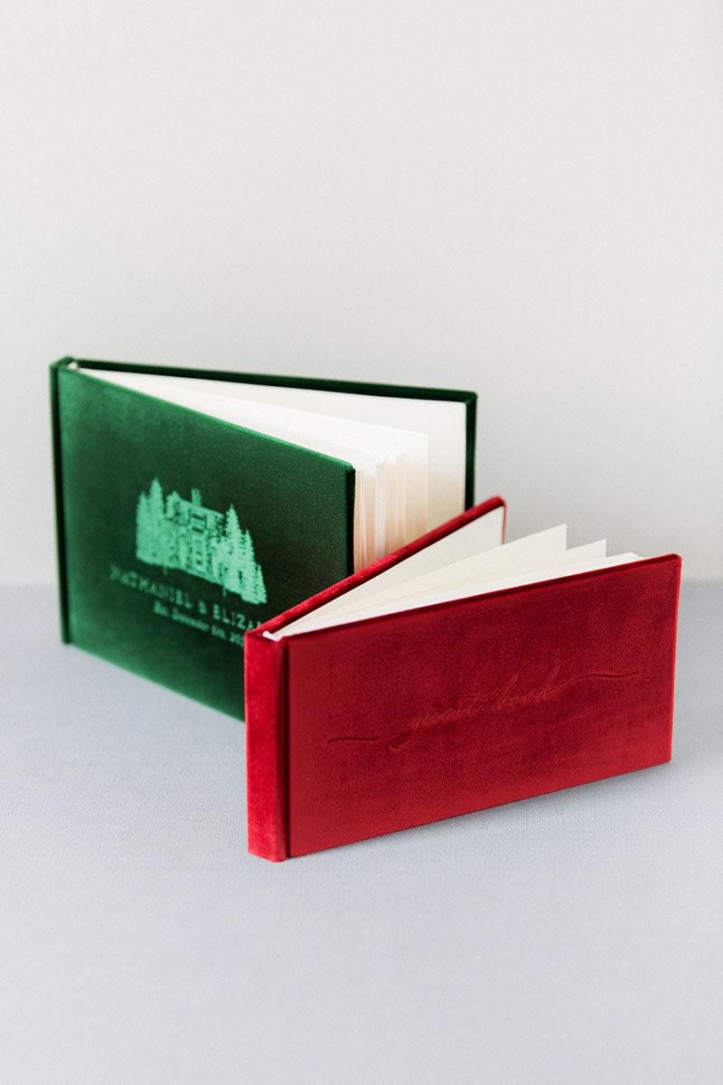 Bark-and-Berry-Garnet-Eden-vintage-velvet-wedding-embossed-monogram-guest-book-002
