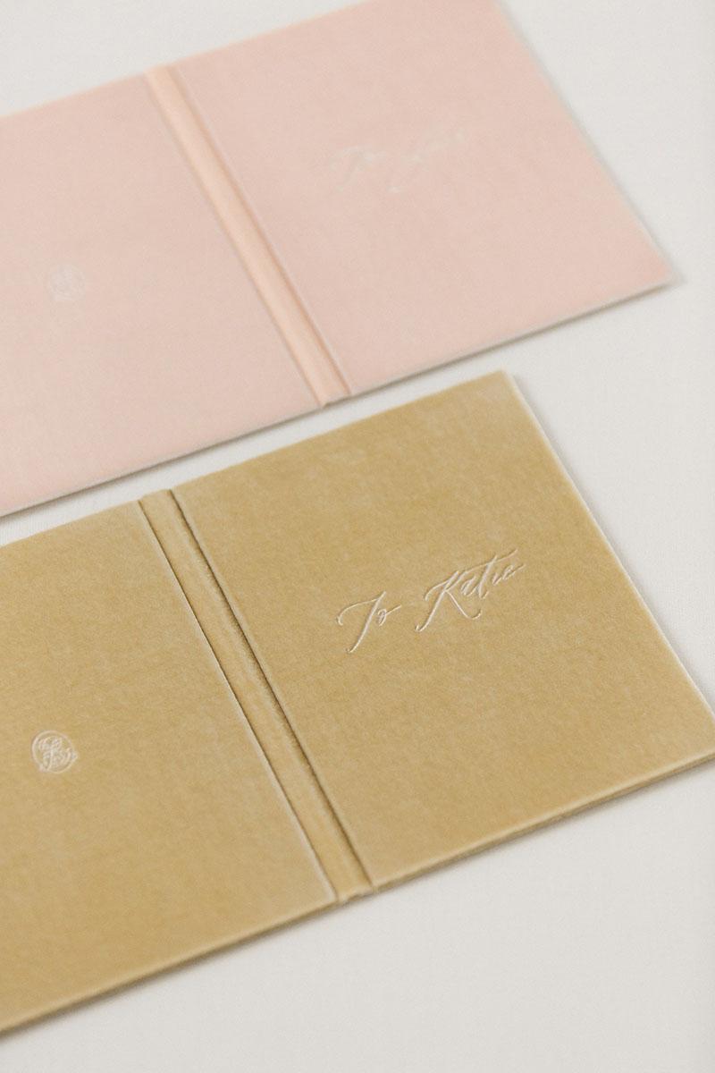 Bark-and-Berry-Blush-Beige-vintage-velvet-wedding-embossed-monogram-vows-folder-book-13x18-009