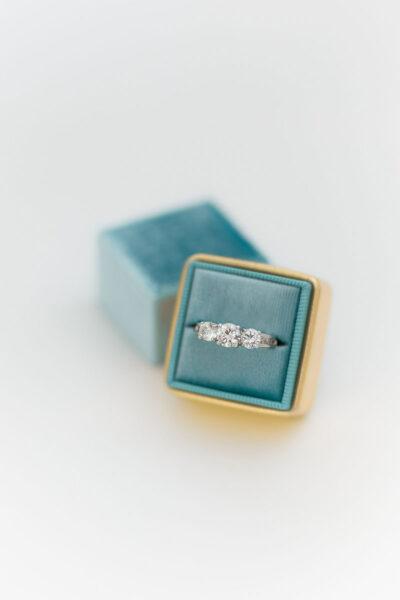 Velvet Shiny Ring Boxes