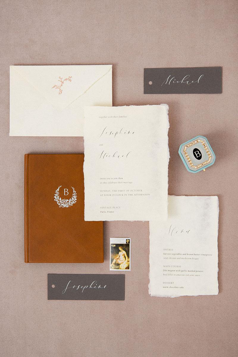 Bark-and-Berry-Grand-Lagune-octagon-vintage-wedding-embossed-monogram-suede-velvet-ring-box-enamel-guilloche-swarovski-006