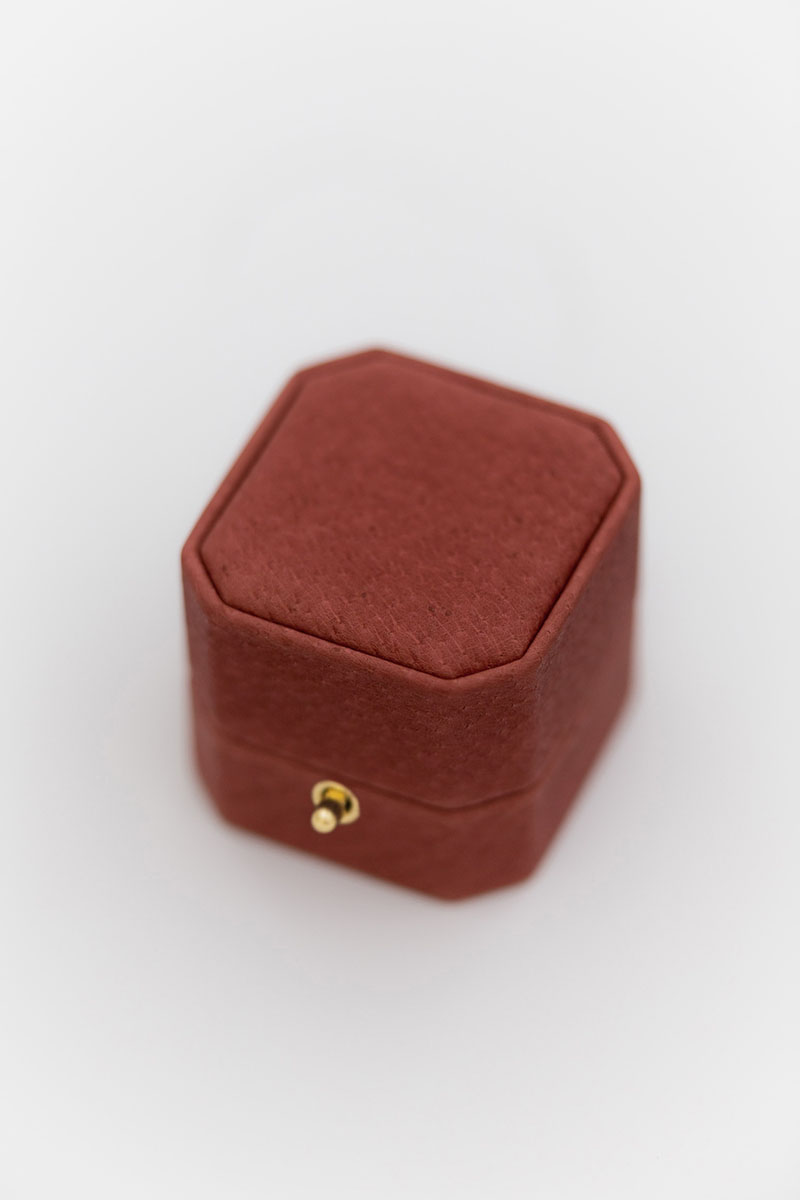 Bark-and-Berry-Grand-Morocco-Red-octagon-lock-vintage-wedding-embossed-individual-monogram-velvet-leather-heirloom-ring-box-001