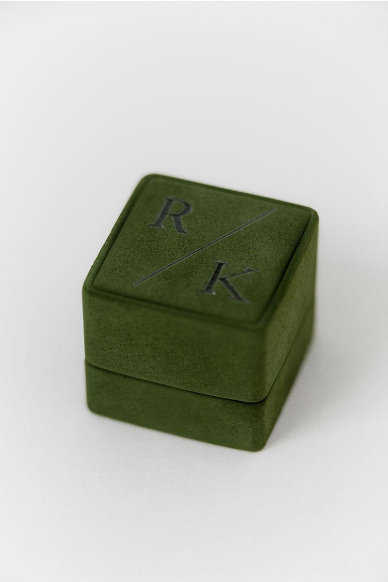 Bark-and-Berry-Grand-Charlotte-classic-vintage-wedding-embossed-individual-monogram-suede-velvet-ring-box-001