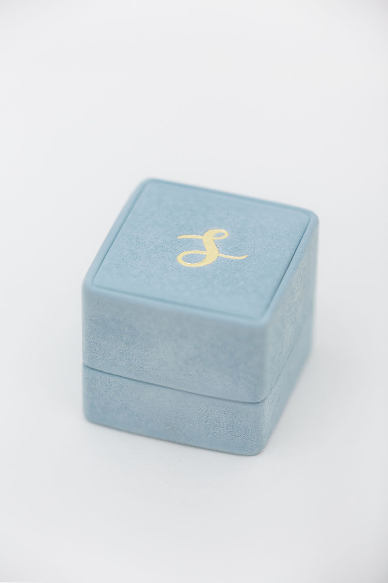 Bark-and-Berry-Grand-Grace-classic-vintage-wedding-embossed-individual-monogram-suede-velvet-ring-box-001