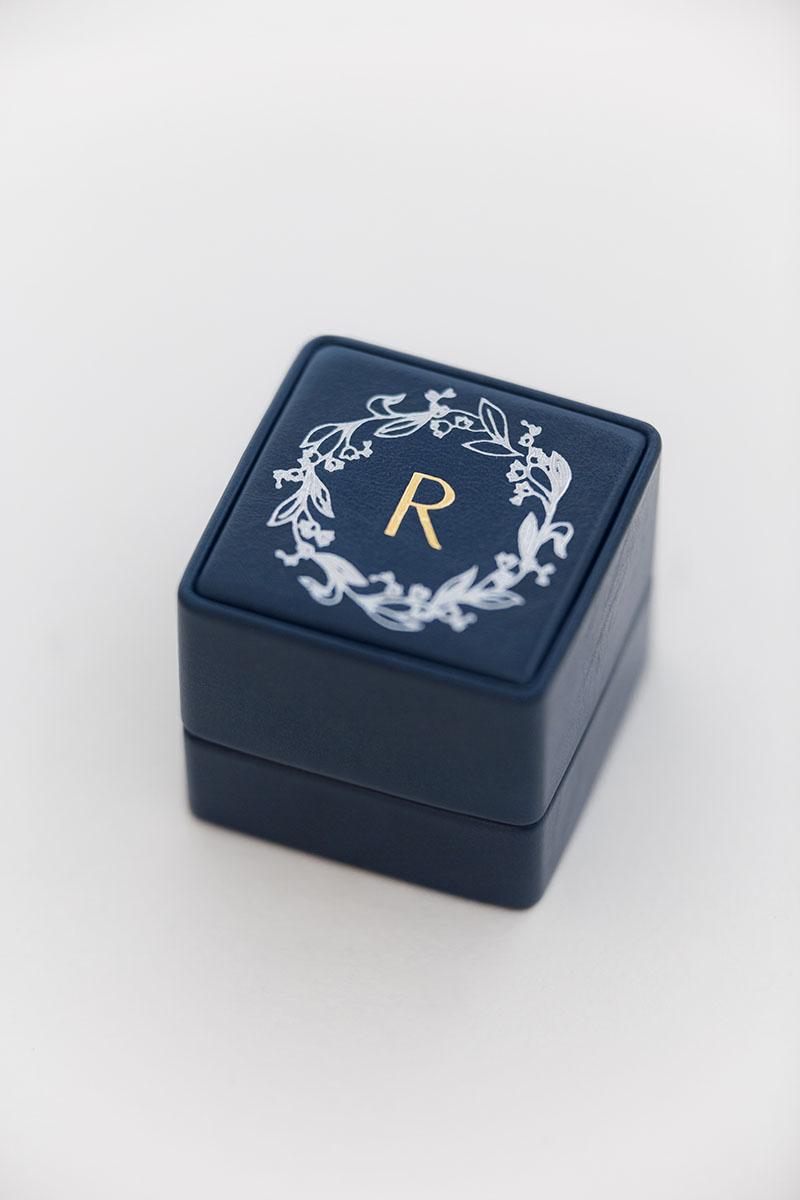 Bark-and-Berry-Grand-Nicholas-classic-vintage-wedding-embossed-individual-monogram-leather-velvet-ring-box-003