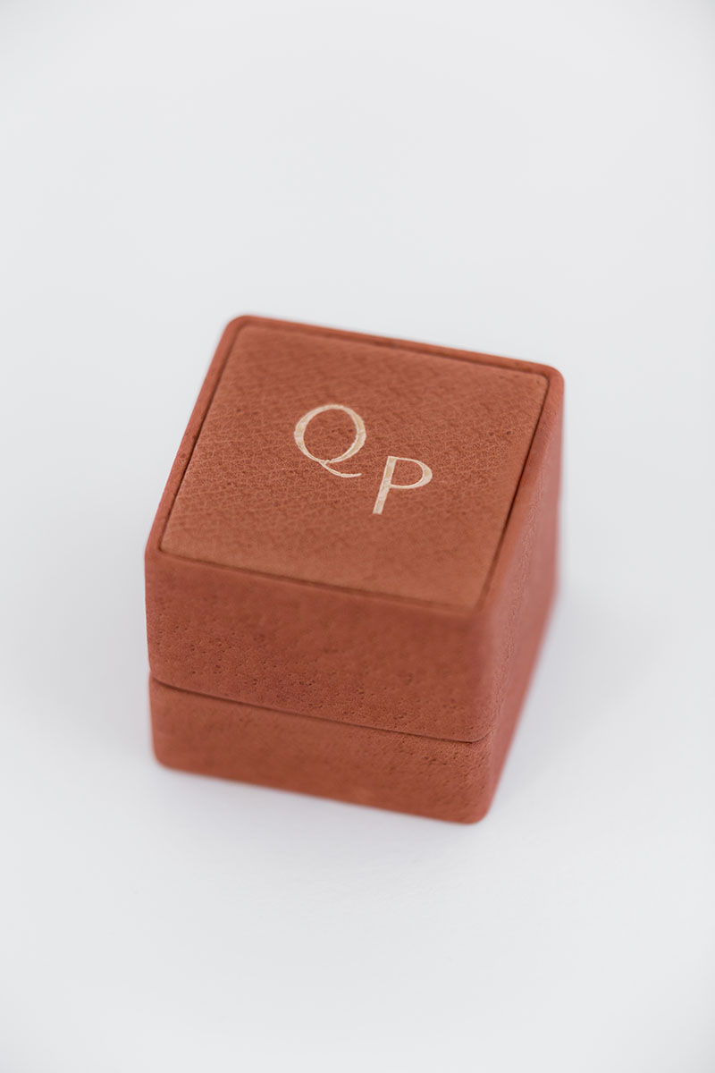 Bark-and-Berry-Grand-Terracotta-classic-vintage-wedding-embossed-individual-monogram-leather-velvet-ring-box-001
