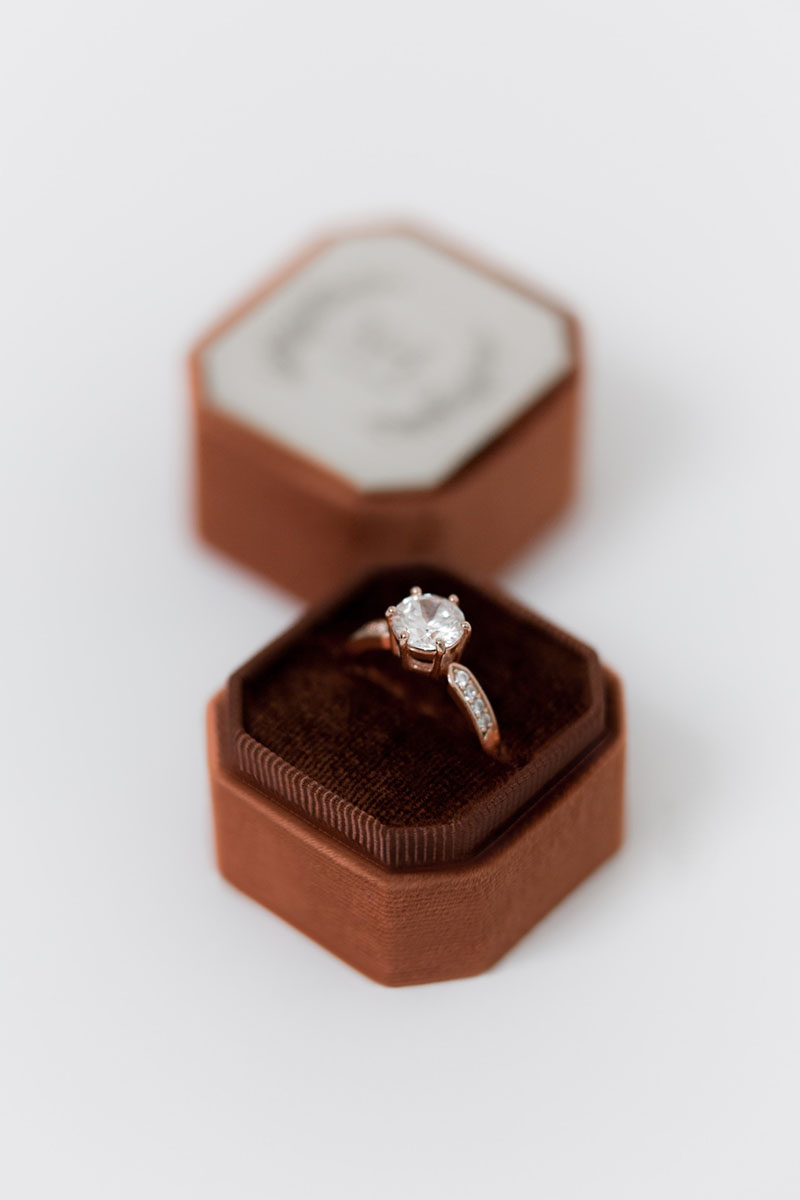 Bark-and-Berry-Petite-Cognac-octagon-vintage-wedding-embossed-individual-monogram-velvet-ring-box-002
