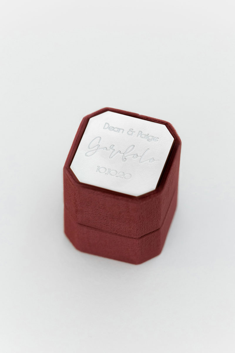 Bark-and-Berry-Petite-Wine-octagon-vintage-wedding-embossed-individual-monogram-velvet-ring-box-engraving-002