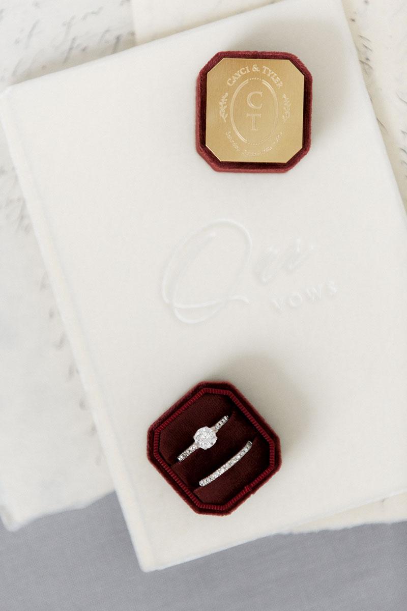 Bark-and-Berry-Petite-Wine-octagon-vintage-wedding-embossed-individual-monogram-velvet-ring-box-engraving-004