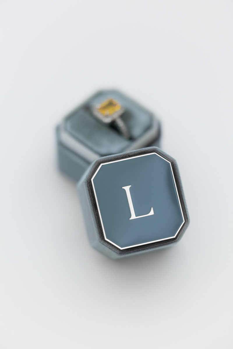 Bark-and-Berry-Petite-Stone-octagon-vintage-wedding-embossed-individual-monogram-velvet-ring-box-enamel-engraving-002