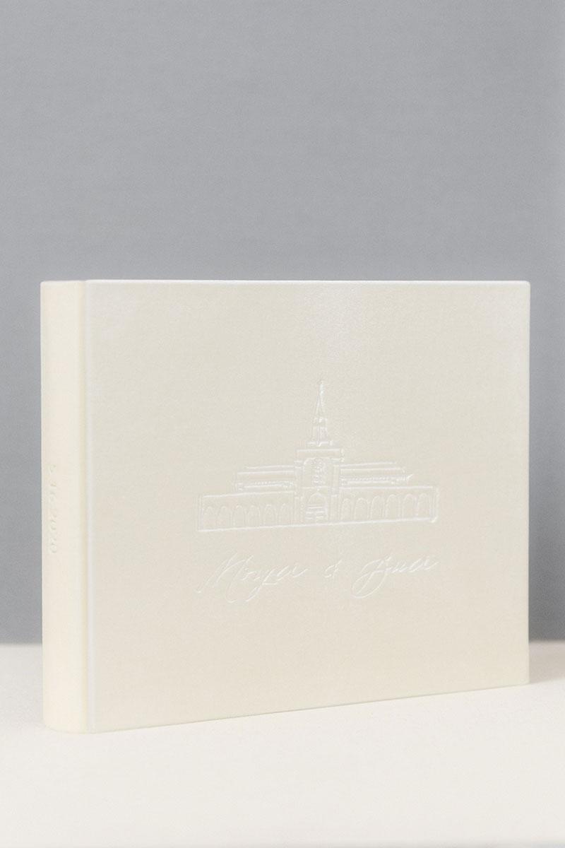 Bark-and-Berry-Ivory-vintage-velvet-wedding-embossed-monogram-guest-book-photoalbum-33x27-001