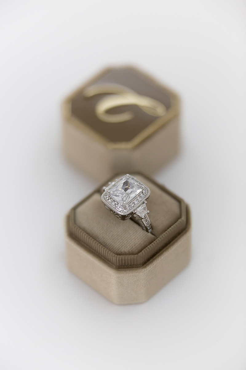 Bark-and-Berry-Petite-Taupe-octagon-vintage-wedding-embossed-engraved-enameled-individual-monogram-velvet-ring-box-001