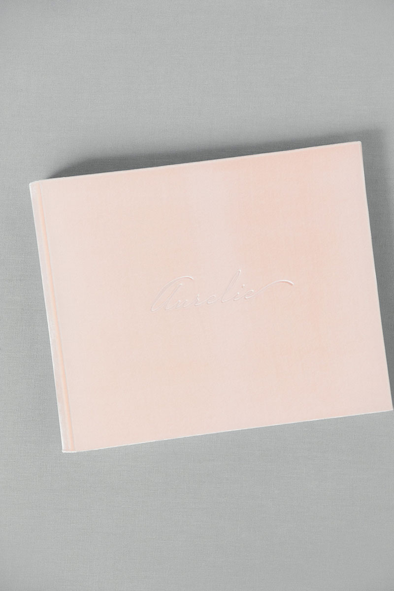 Bark-and-Berry-Blush-vintage-velvet-wedding-embossed-monogram-guest-book-photoalbum-33x27-001