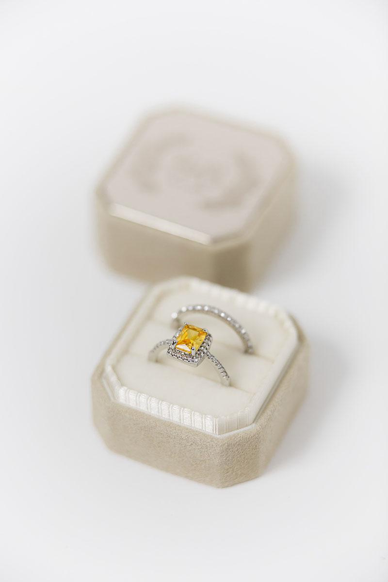 Bark-and-Berry-Grand-Anne-octagon-vintage-wedding-embossed-engraved-enameled-individual-monogram-velvet-suede-ring-box-001